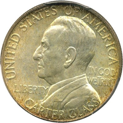 Image of 1936 Lynchburg 50c PCGS/CAC MS66