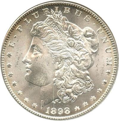 Image of 1898-O $1 NGC/CAC MS65