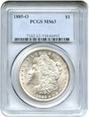 Image of 1885-O $1 PCGS MS63