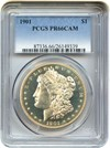 Image of 1901 $1 PCGS Proof 66 Cameo - Desirable Gem Proof Morgan