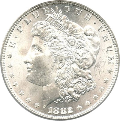 Image of 1882 $1 PCGS MS65