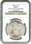 Image of 1890-CC $1 NGC MS62
