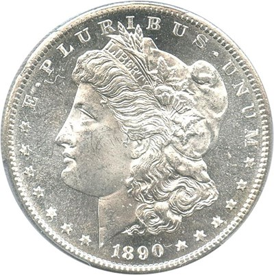 Image of 1890-S $1 PCGS MS65 PL