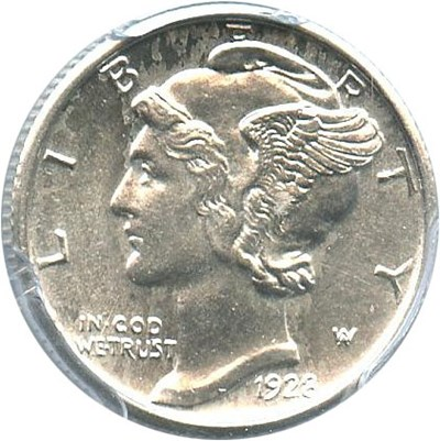 Image of 1928 10c PCGS MS63