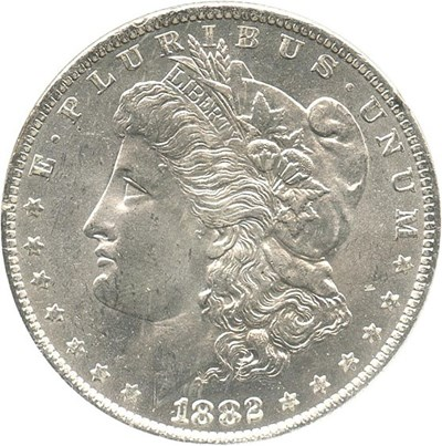 Image of 1882-O $1 NGC MS64