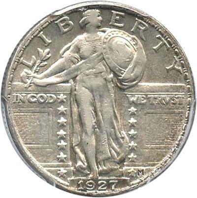 Image of 1927 25c PCGS XF45