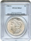 Image of 1902-S $1 PCGS MS63 - No Reserve!