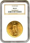 Image of 1914-S $20 NGC MS65 - No Reserve!