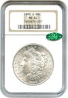 Image of 1890-S $1 NGC/CAC MS64