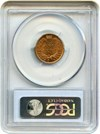 Image of 1881 1c PCGS MS65 RD