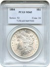 Image of 1884 $1 PCGS MS65
