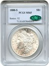 Image of 1880-S $1 PCGS/CAC MS65