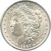 Image of 1887 $1 PCGS MS62 (VAM 12, Alligator Eye) Top 100 VAM
