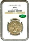 Image of 1925 Lexington 50c NGC/CAC MS65 - No Reserve!