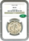 Image of 1942-D 50c NGC/CAC MS65 - No Reserve!