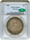 Image of 1900 Lafayette $1 PCGS/CAC XF45
