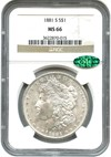 Image of 1881-S $1 NGC/CAC MS66 - No Reserve!