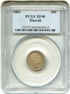 Image of Hawaii 1883 10c PCGS XF40