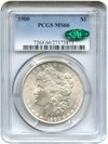 Image of 1900 $1 PCGS/CAC MS66
