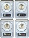 Image of Collector Lot of Washington Quarters: 1946,46-S,47-S,48-S PCGS MS64/63 (4 Coins) - No Reserve!