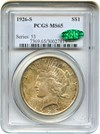Image of 1926-S $1 PCGS/CAC MS65 - No Reserve!