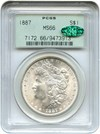 Image of 1887 $1 PCGS/CAC MS66 OGH