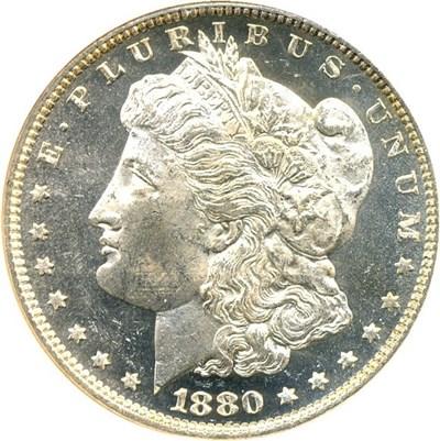 Image of 1880/79-O $1 NGC MS63 DMPL