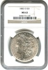 Image of 1883-O $1 NGC MS63 - Unreserved Lot!