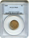 Image of 1889 5c PCGS Proof 65 - No Reserve!
