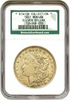 Image of 1921 Morgan $1 NGC AU - Binion Hoard