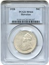 Image of 1928 Hawaiian 50c PCGS MS64 - Key Issue - No Reserve!