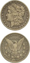 Image of 1895-S $1 PCGS VF25 - No Reserve!