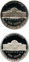 Image of Pair of Jefferson Nickels: 1999-S, 2007-S 5c PCGS Proof 69 DCAM (2 Coins)