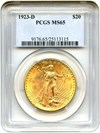 Image of 1923-D $20 PCGS MS65  - Unreserved Lot!