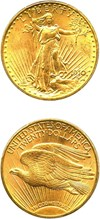 Image of 1910-D $20 PCGS MS64 - No Reserve!