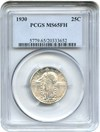 Image of 1930 25c PCGS MS65 FH