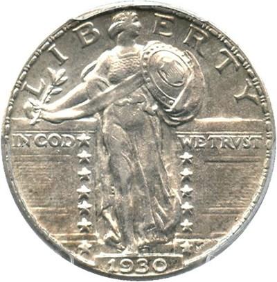 Image of 1930 25c PCGS MS62