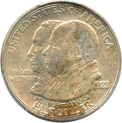 Image of 1923-S Monroe 50c PCGS MS63