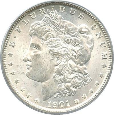 Image of 1901-O $1 PCGS MS64