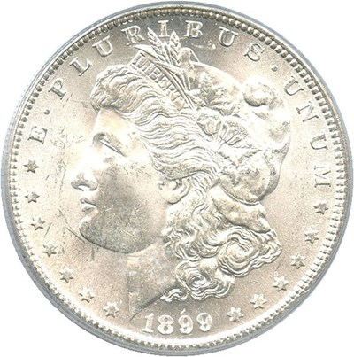 Image of 1899-S $1 PCGS MS65