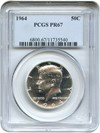 Image of 1964 50c PCGS Proof 67