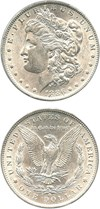Image of 1886-O $1 PCGS AU55