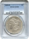 Image of 1895-O $1 PCGS XF40 - Key Date