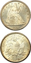 Image of 1876-CC 50c PCGS MS62 - No Reserve!