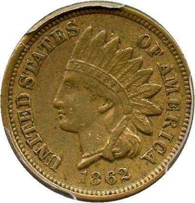 Image of 1862 1c PCGS XF40