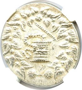 Image of 180/167-133 BC Ionia AR Cistophorus NGC Ch AU (Ancient Greek) Strike: 4/5, Surface Quality: 4/5.