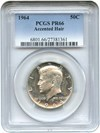 Image of 1964 50c PCGS Proof 66 (Accented Hair)