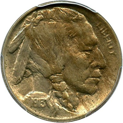Image of 1913 5c PCGS MS63 (Type 2)