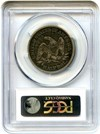 Image of 1853 50c PCGS/CAC VF25 (Arrows & Rays)