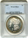 Image of 1899 $1 PCGS Proof 61